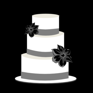 Wedding Cake Silhouette Clip Art Images & Pictures - Becuo